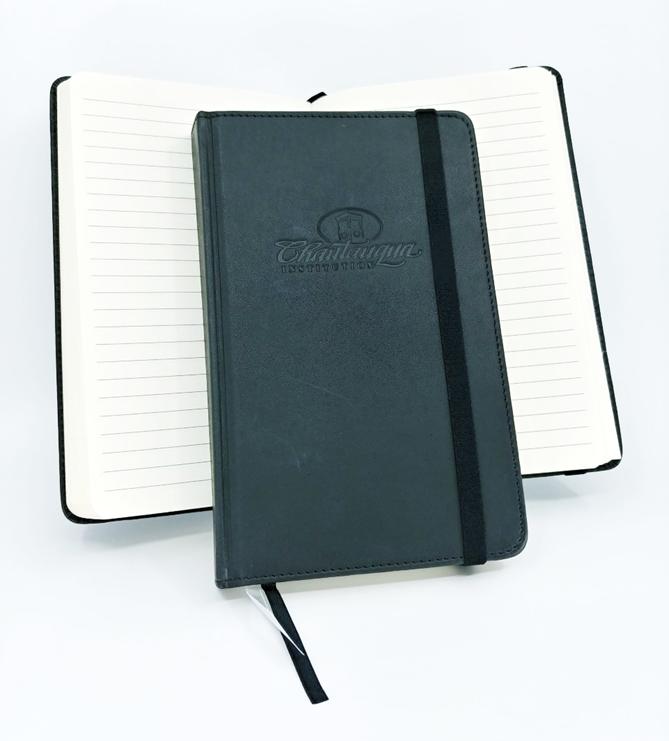 debossed CHQ notebook