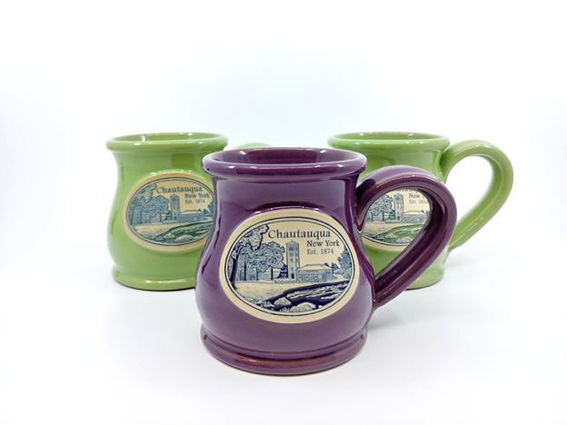 Glazed Chautauqua Mugs