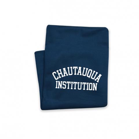 CHAUTAUQUA Sweatshirt Throw in Navy
