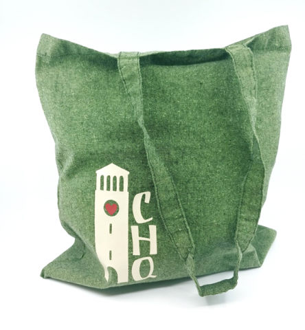 CHQ Bell Tower Cotton Tote