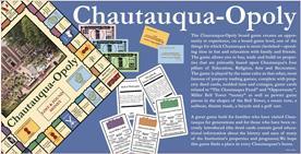 Chautauqua-Opoly box