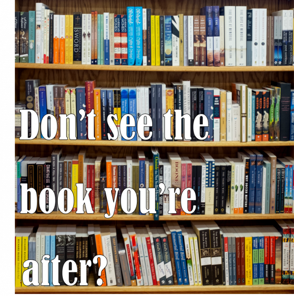 Don't see the book you're looking for?