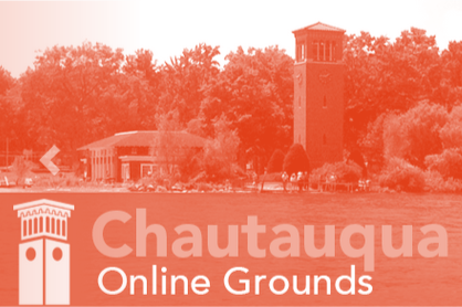 Chautauqua Online Grounds button (outside link)